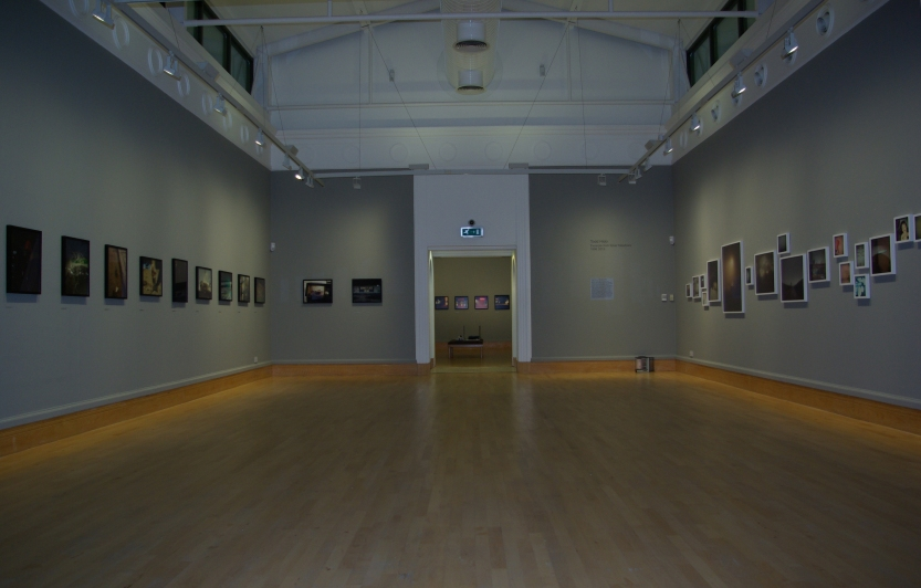 On the left Will Steacy; on the right, Todd Hido, dead ahead, Jeff Brows. All photographs copyright of Will Steacy, Todd Hido and Jeff Brouws. Gallery Installation shot: copyright Mark Rawlinson
