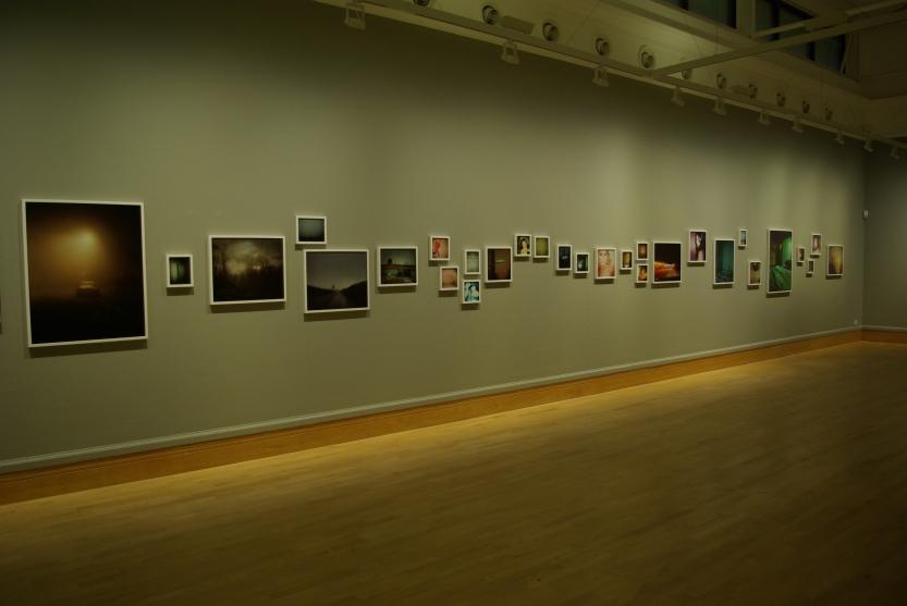 photographs copyright Todd Hido Gallery installation photograph, copyright Mark Rawlinson